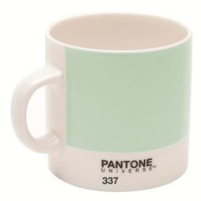 Pantone Espresso Cup, Mint Green 337 by Pantone by W2 at Dotmaison