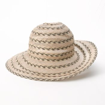 c3ad859d416 Croft   Barrow Tweed Sheer Radial Floppy Hat