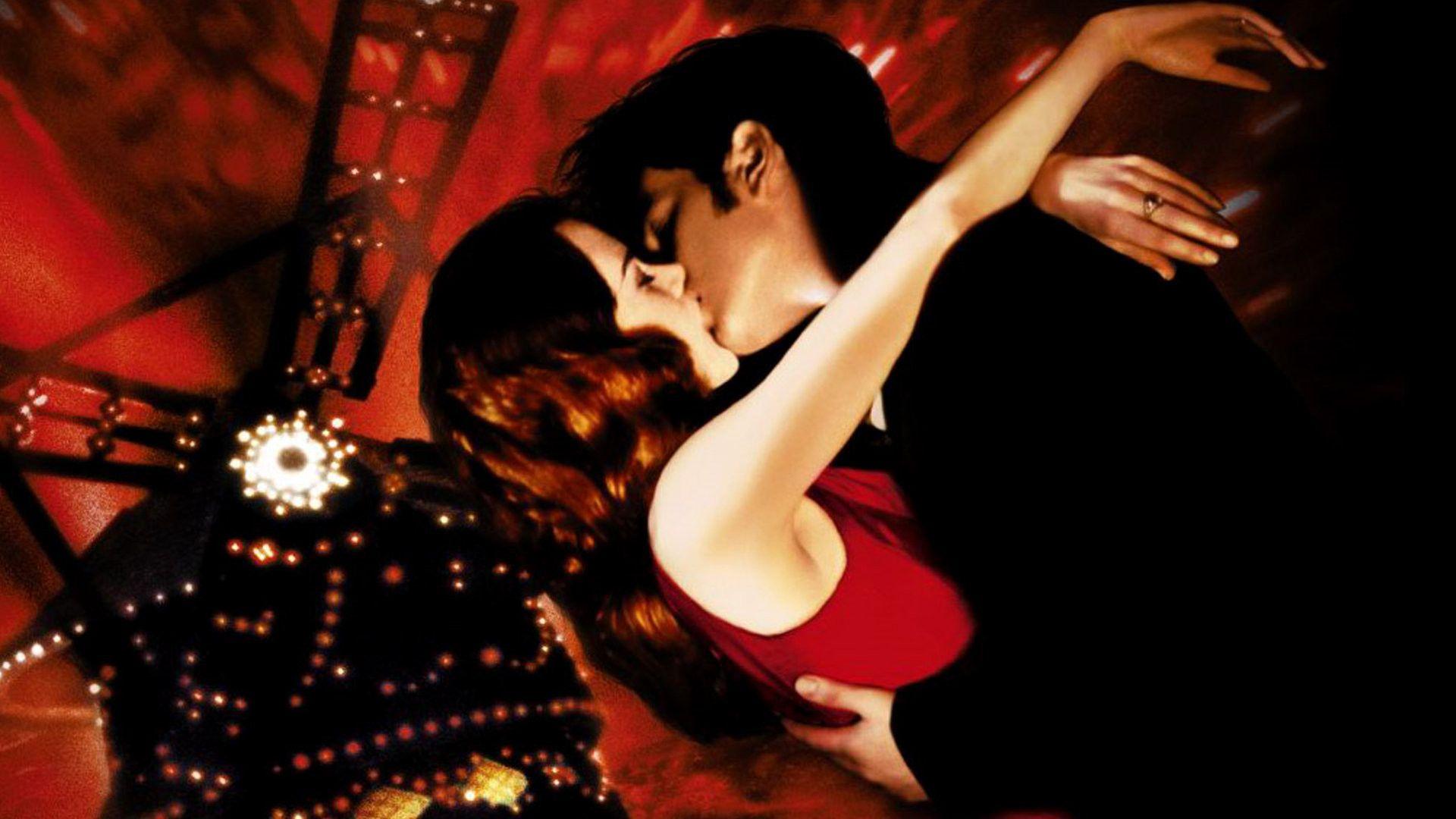 Resultado de imagem para moulin rouge kiss scene