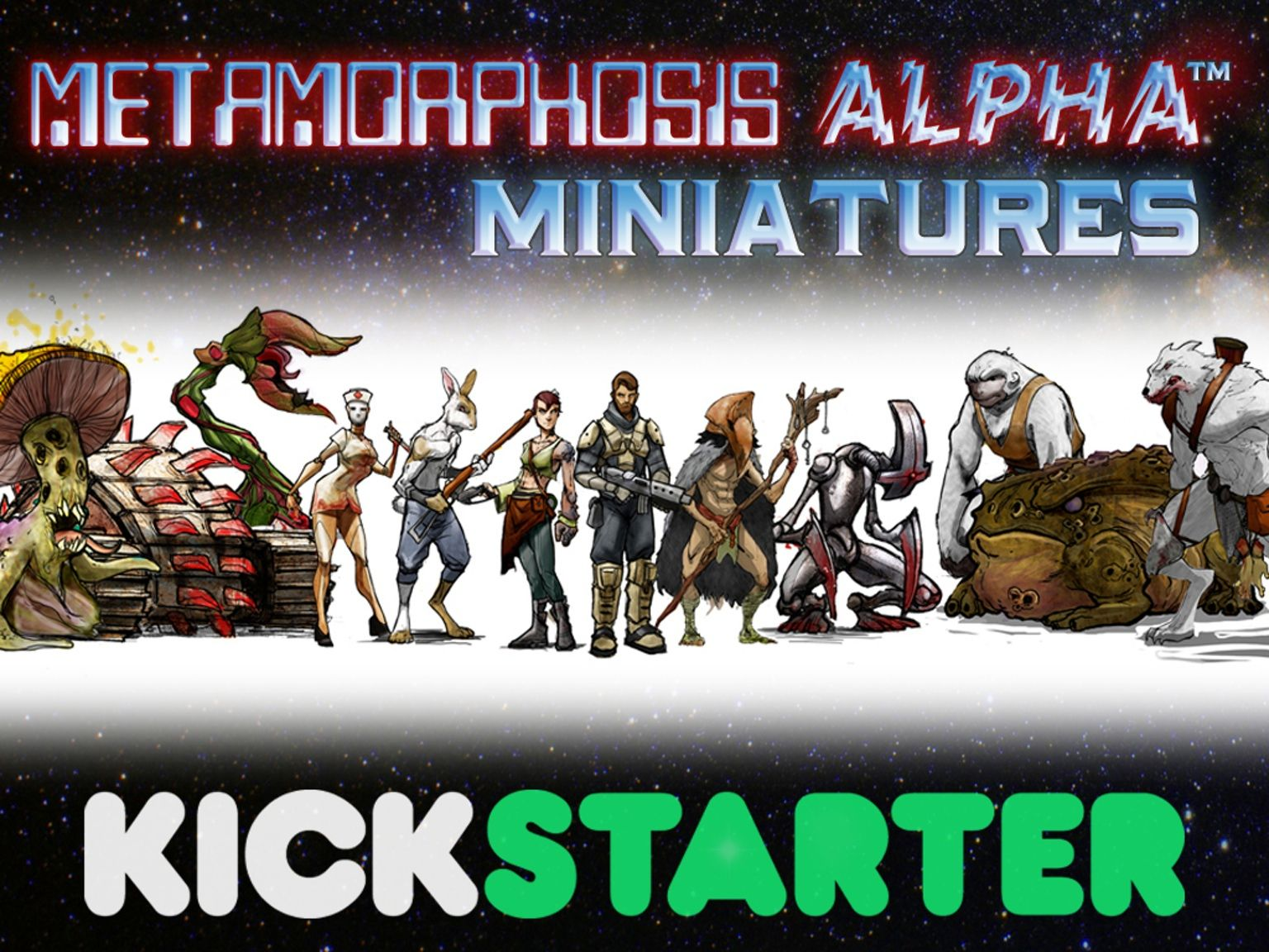 28mm Miniatures for the First Science Fiction Role-Playing Game