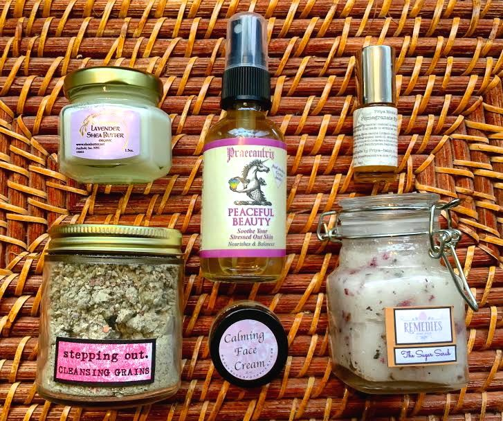 "Remedies Herb Shop - Remedies ""Skin Care Sampler"" Gift Set, $75.00 (http://remediesherbshop.com/holiday-gift-sets/remedies-skin-care-sampler-gift-set/)"