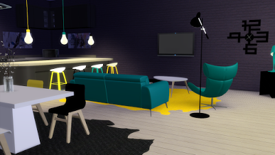 My Sims 4 Blog: BoConcept Living Room Set - 14 Objects by Nicolas ...