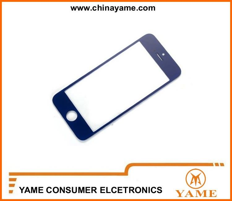 iphone5 touch glass lens black