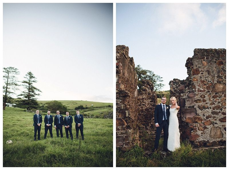 Wedding in a secluded location