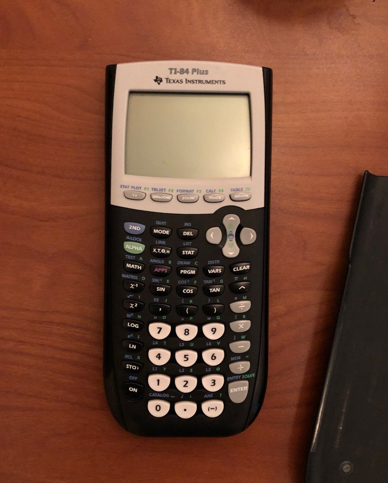 Brand New Ti 84 Plus Calculator Comes With Cover Comes With Batteries Works Perfect Feel Free To Throw Offers Calculator Math Apps Sin Cos Tan