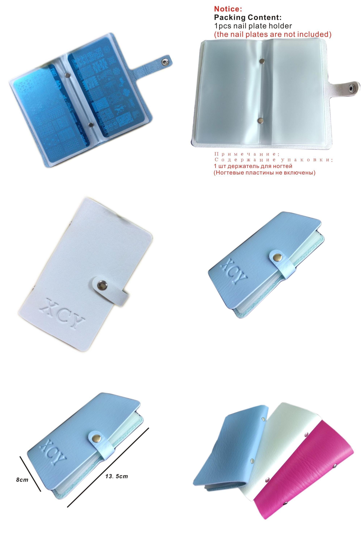 Visit to Buy] 20Slots Large Rectangular Nail art Stamping Plate ...