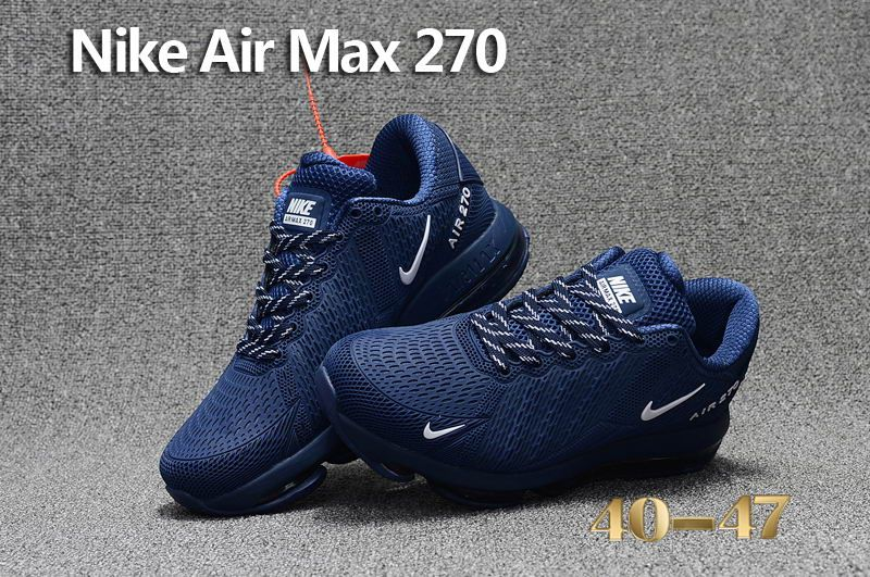 Nike Air Max Flair 270 Kpu Dark Blue Nike Air Max Nike Shoes Air Max Nike Air