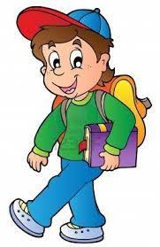 Resultado De Imagen Para Nino Estudiando Caricatura Cartoon Boy Cartoon School Illustration