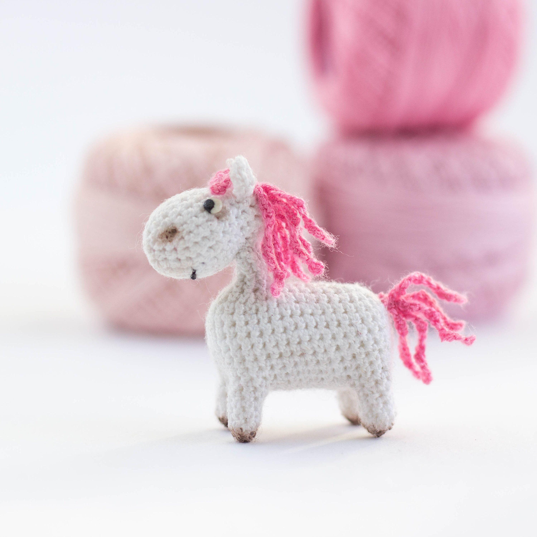 043 Horse White Dream with wire frame - Amigurumi Crochet Pattern ... | 3000x3000