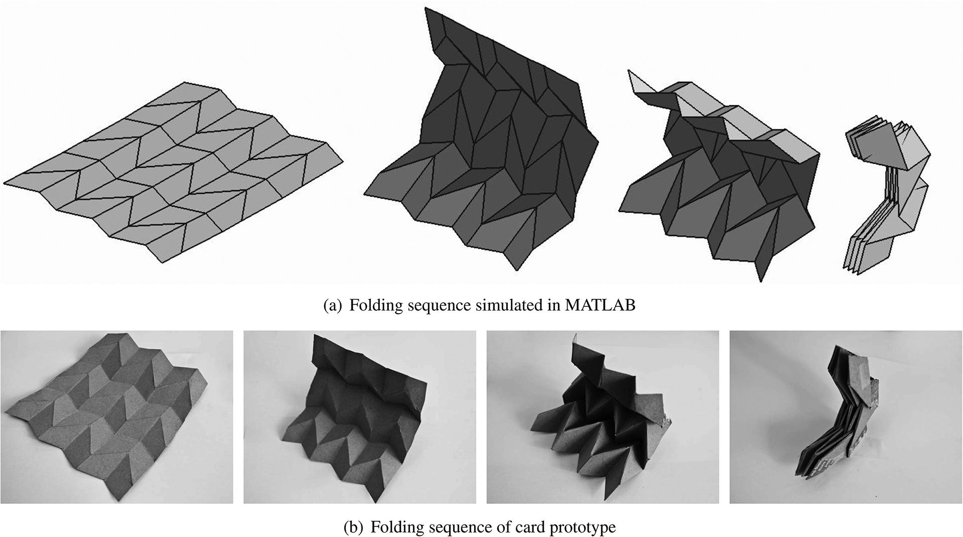 Miura-ori origami - Google Search   Paper Art   Pinterest ... - photo#4