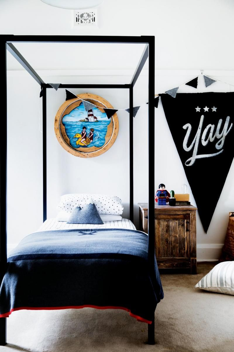 Design Ideas To Steal From A Weatherboard Extension. Boy BedroomsKids ...