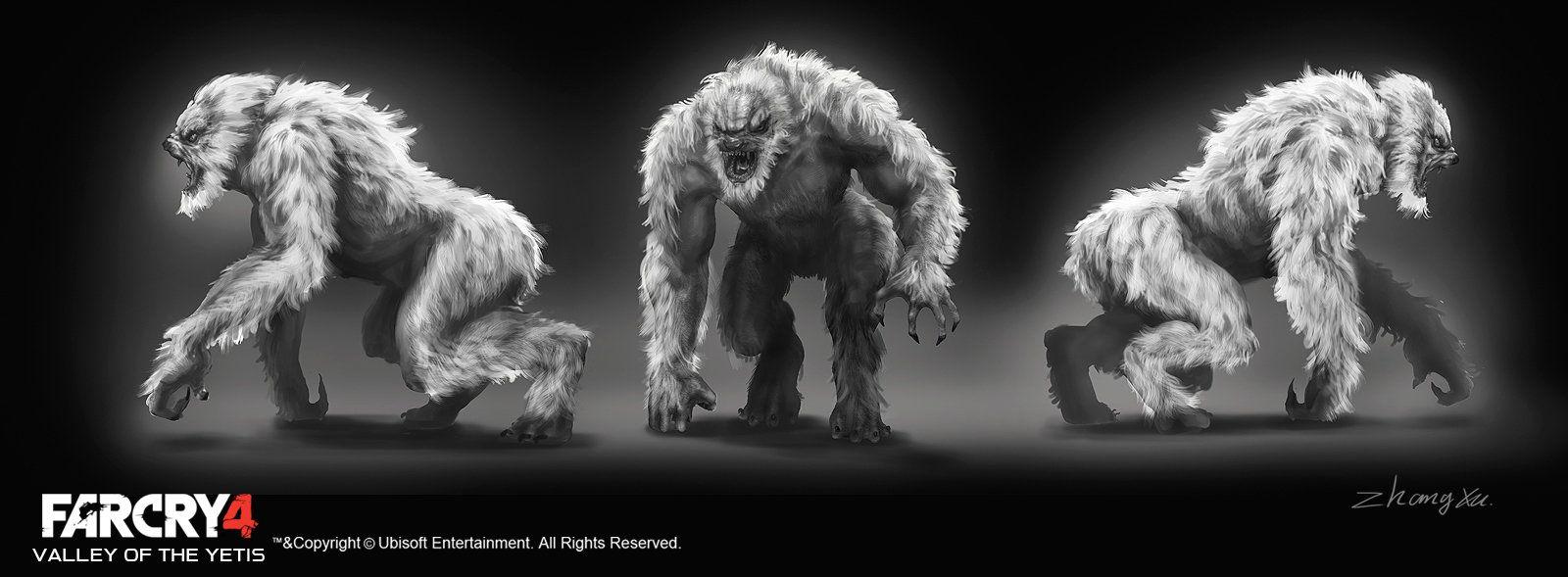 Far Cry 4 Concept Art Fantasy Monster Art