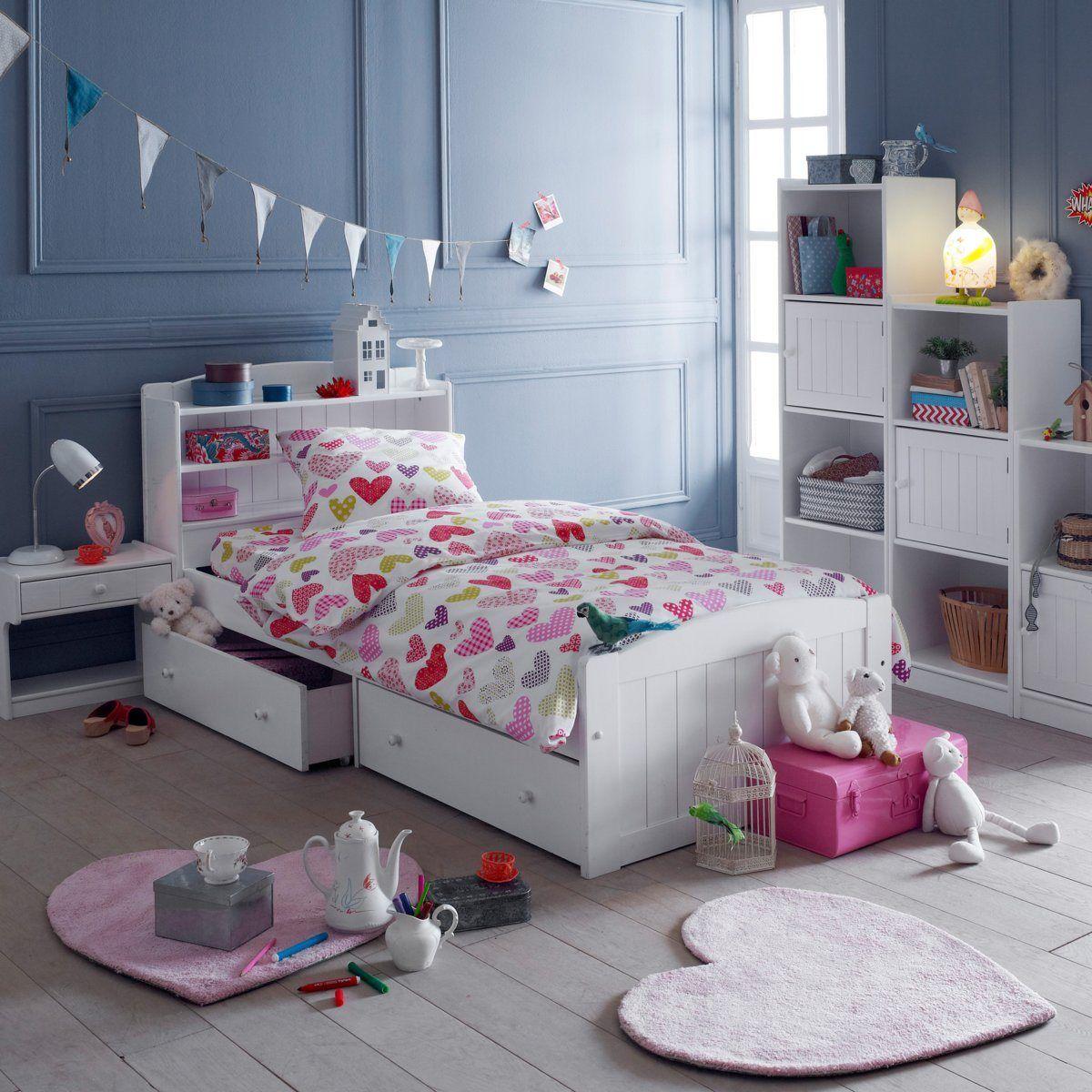 tete de lit avec rangement la redoute