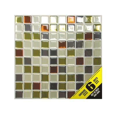 peel and stick kitchen tiles Self adhesive wall tiles