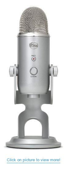 Blue Microphones Yeti USB Microphone - Silver Edition #Blue #Microphones #Yeti #USB #Microphone #Silver #Edition