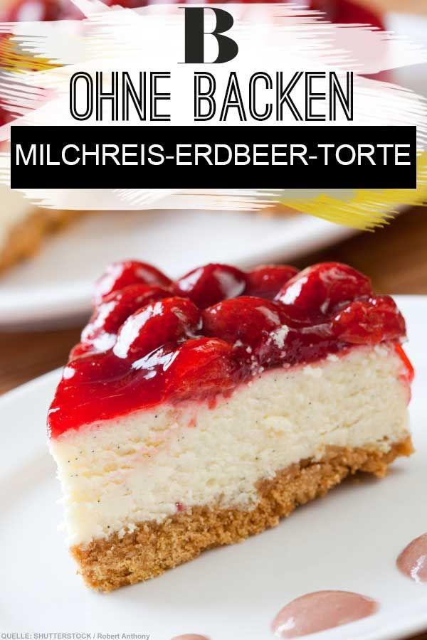 Milchreis Torte Ohne Backen Rezept Torte Ohne Backen Milchreiskuchen Und Kuchen Ohne Backen