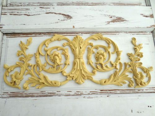 Architectural Furniture Appliques Onlays Wood Flexible Stainable