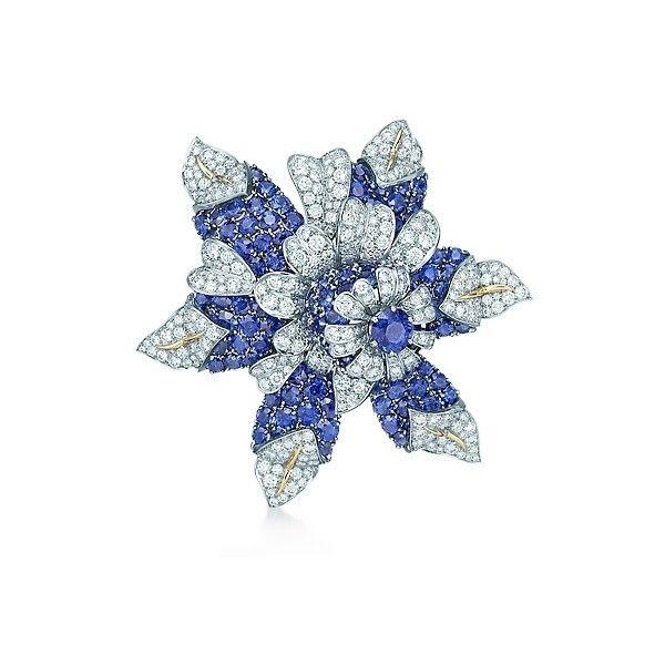 e5f40d96a Jean Schlumberger Fleur De Mer Clip ❤ liked on Polyvore   Tiffany ...