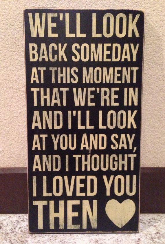 Wood Sign Brad Paisley Song Then Add Personalizationcustomize