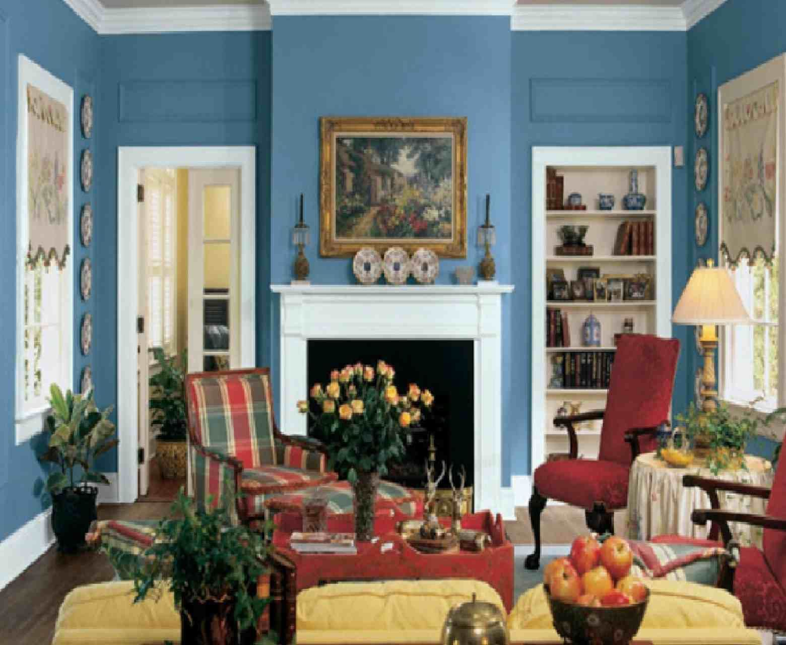 traditional living room interior design ideas for painting