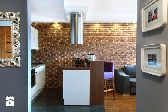 Kuchnia Półotwarta Na Salon Szukaj W Google Open Kitchen