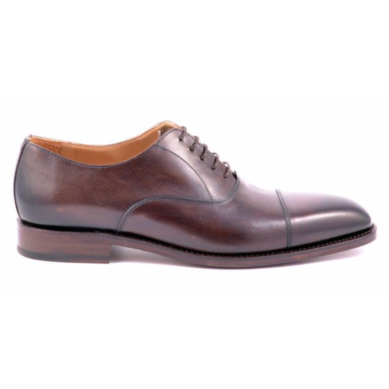 Berwick 2428 Dark Brown Berwick Buty Meskie Dress Shoes Men Oxford Shoes Brown