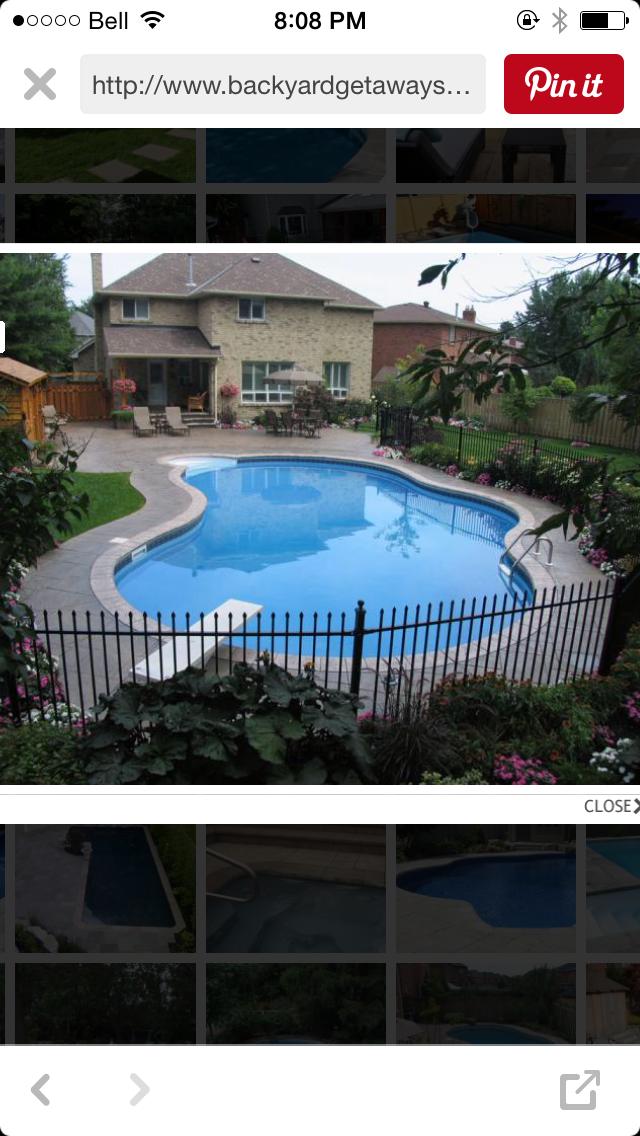 Pin By Lashawn On Pool Backyard Pool Swimming Pools Backyard