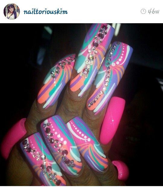 Via Instagram #nails #nailart #nailartswag #nailporn #nailgasm #nailartoohlala #fashion