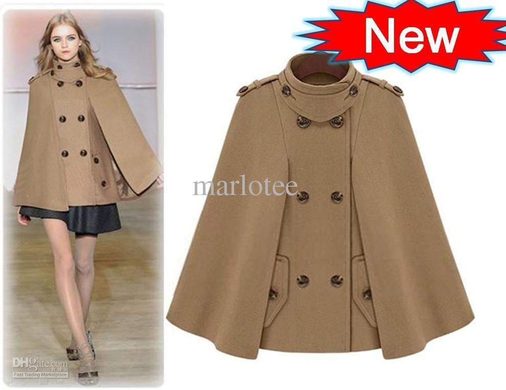 f61ffdd4690 Wholesale 2013 new fashion women coat outwear camel stand collar joker  elegant clothes
