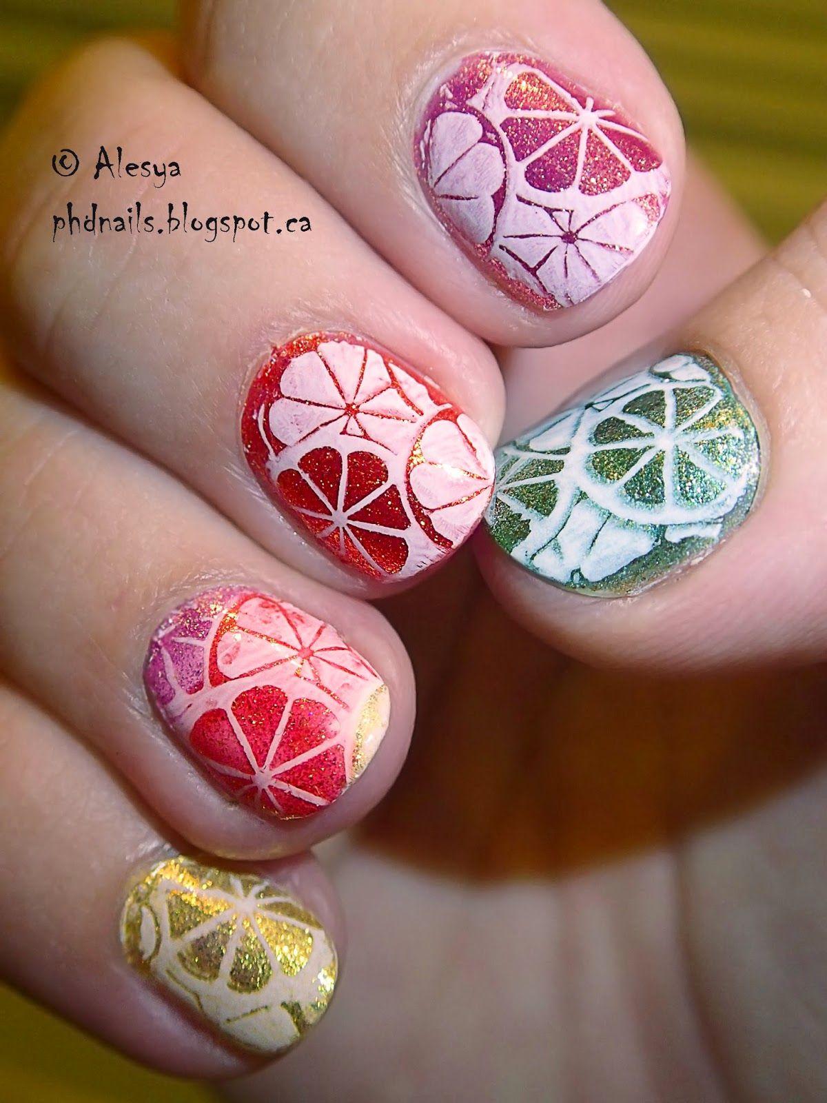 Zoya polish citrus nail art nails pinterest art challenge zoya polish citrus nail art prinsesfo Gallery