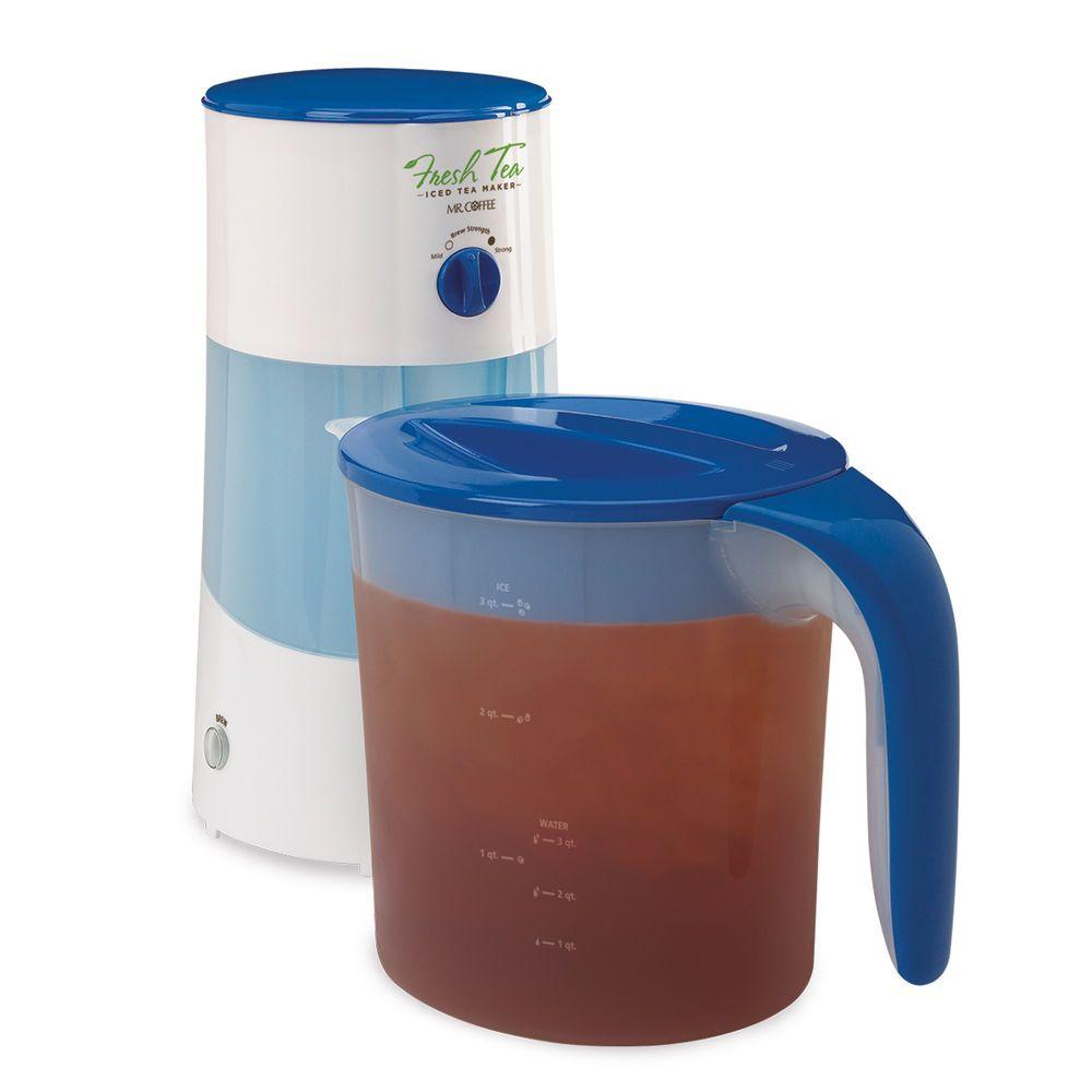 Mr. Coffee TM70 Iced Tea Maker 3-Qt. Blue #MrCoffee