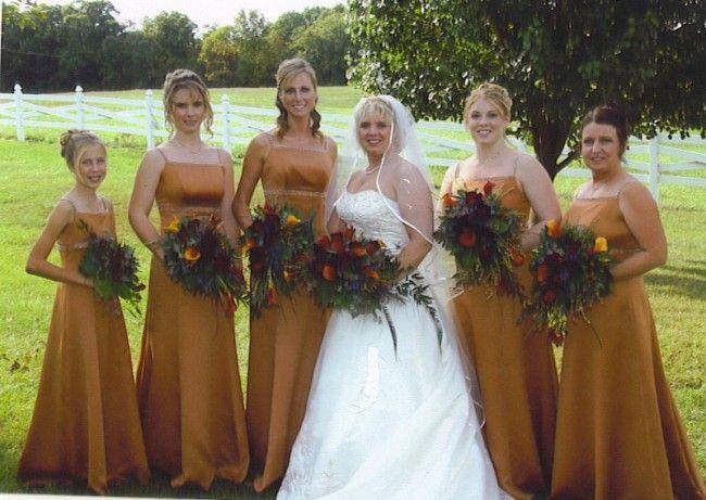 fall wedding colors bridesmaid dresses - Fall Colored Bridesmaid Dresses