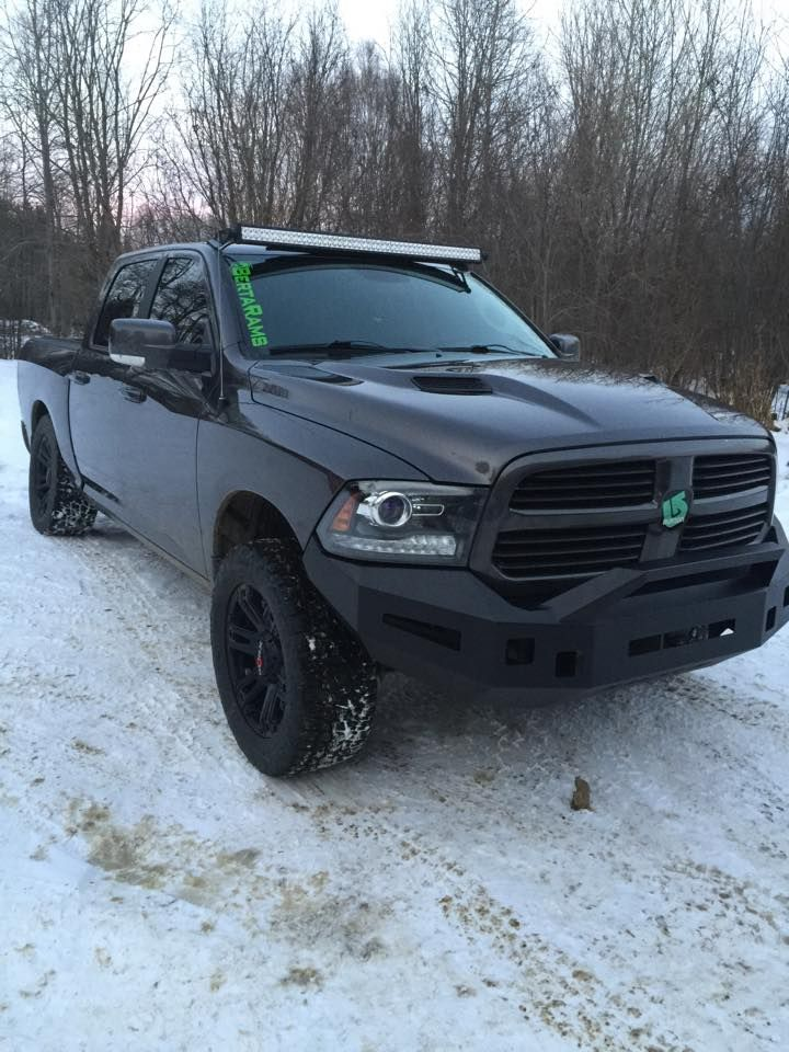 Dodge Ram with ICIu0027s Magnum Bumper and RT-Series Light Bar Option #DodgeRam & Dodge Ram with ICIu0027s Magnum Bumper and RT-Series Light Bar Option ...