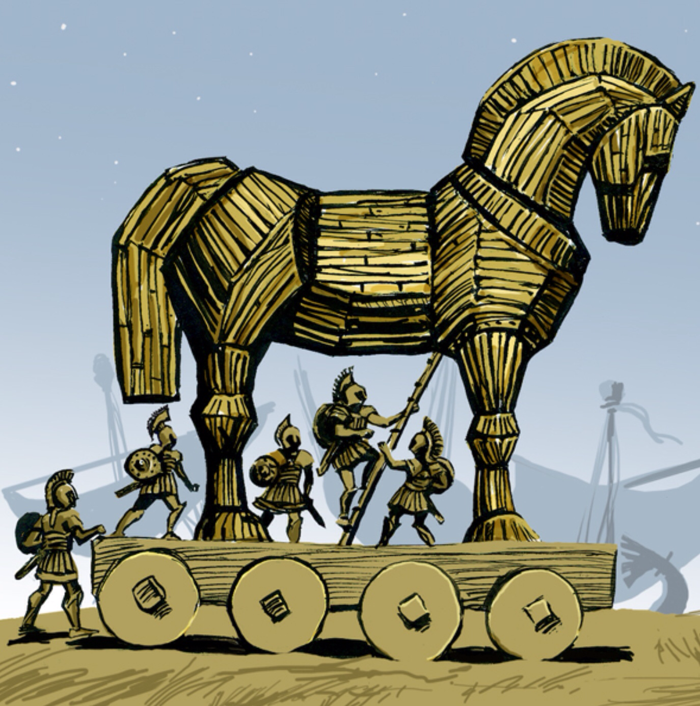 Beware Trojan Horses! | More Than Useless Blog | Pinterest ...