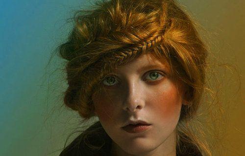 Twist Me Pretty: Fishtail Bangs- A New Beauty Blog