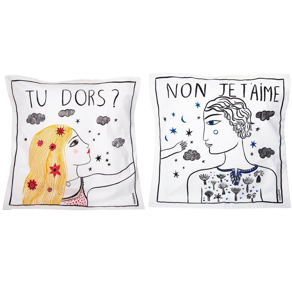 t oreiller Des taies d'oreiller   Noël : plus de 100 cadeaux design t oreiller