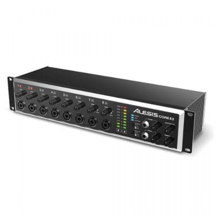 Alesis Core 8 Rackmount Usb 2 0 8 Channel Audio Interface Audio