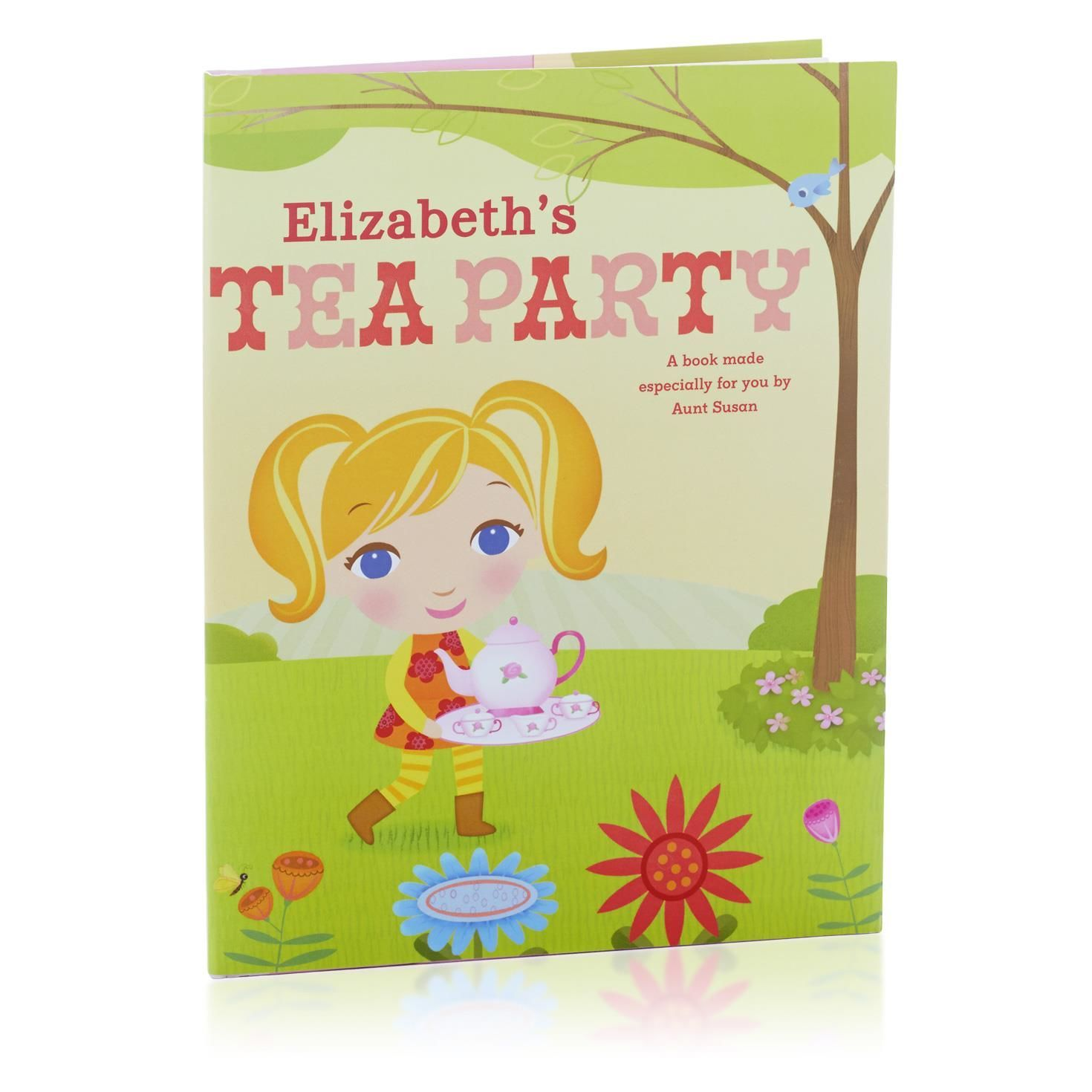 Tea Party Personalized Book | Personalized books for kids ...