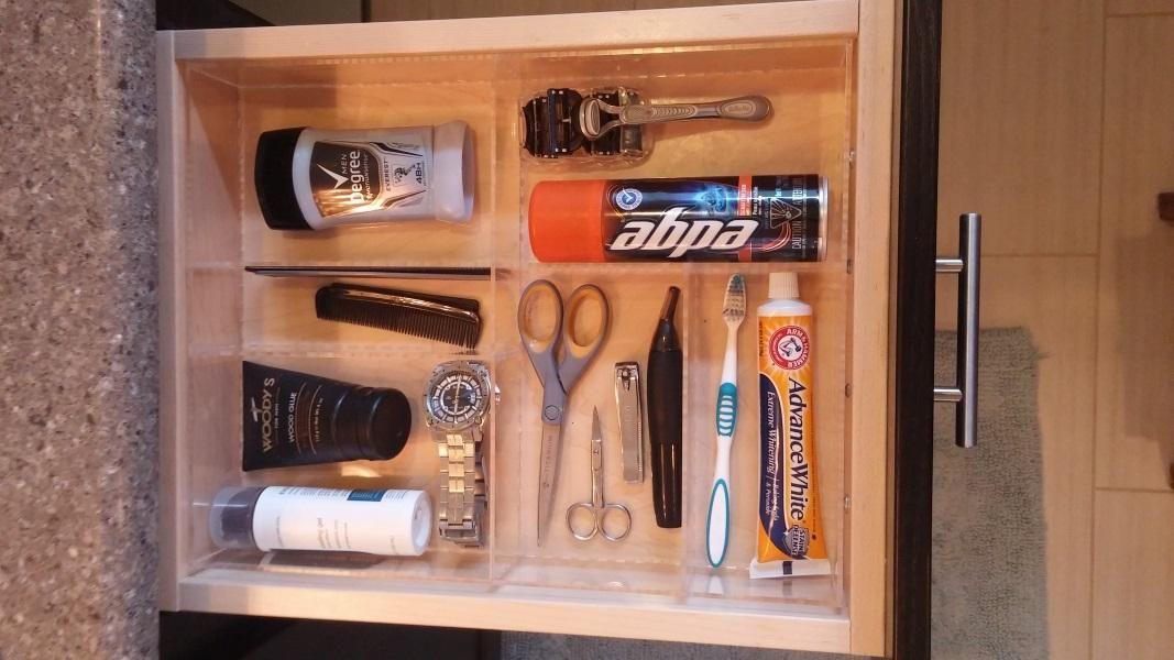 Lookbook Man Bathroom Bathroom Drawer Organization Simple Bathroom