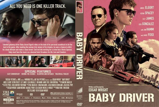Baby Driver 2017 Dvd Custom Cover Dvd Cover Design Dvd Covers Custom Dvd