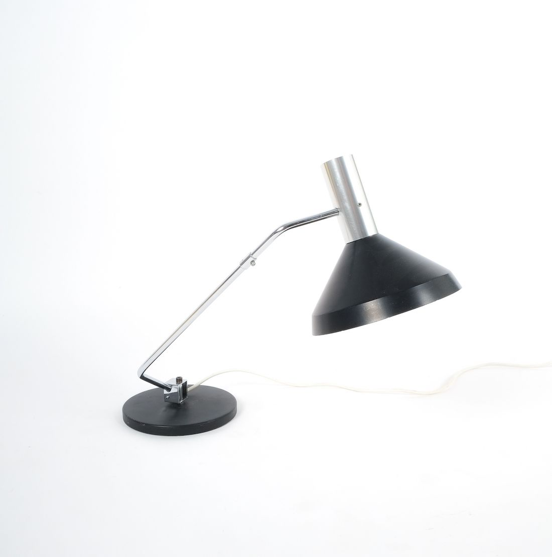 Baltensweiler Articulated Swiss Architects Table Lamp 1960