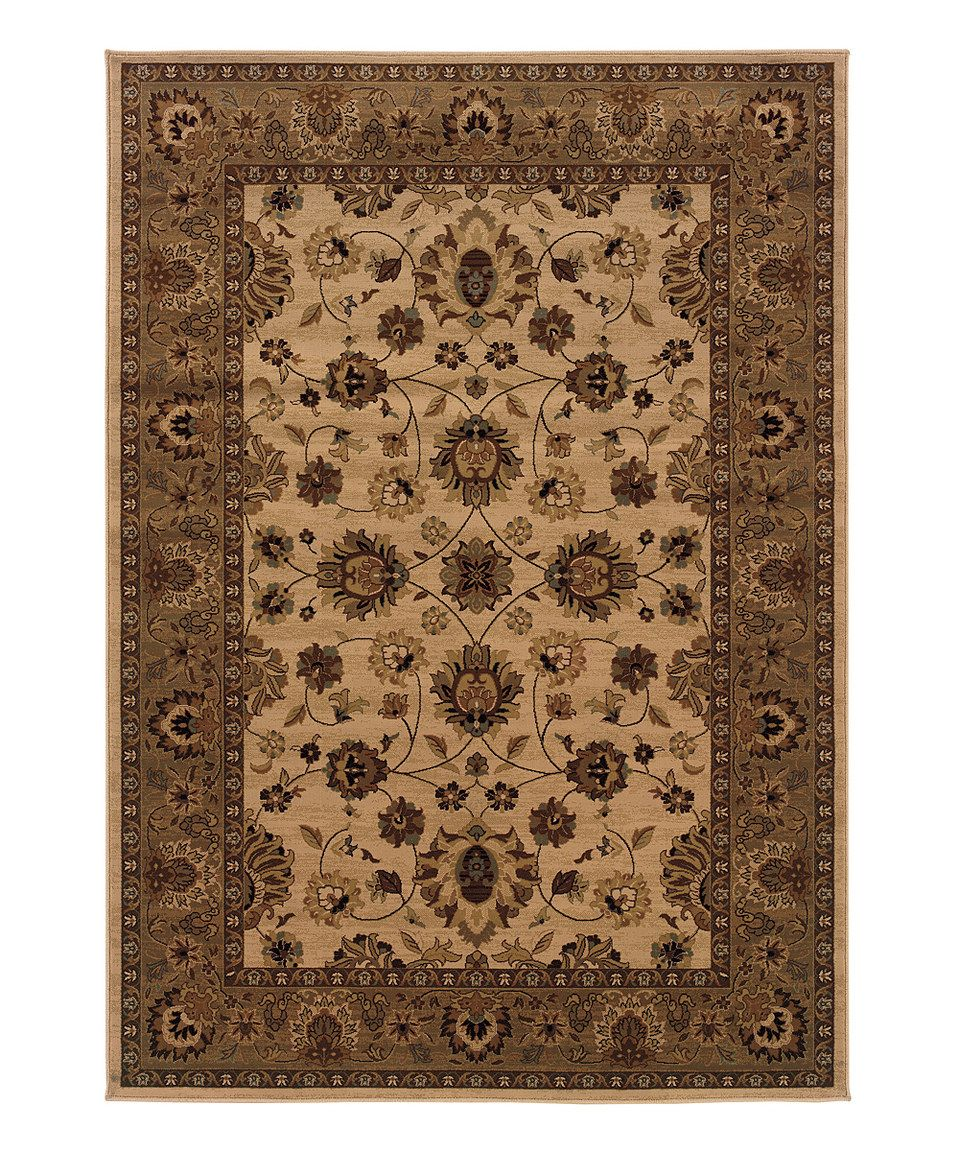 Another great find on #zulily! STYLEHAVEN Ivory London Rug by STYLEHAVEN #zulilyfinds