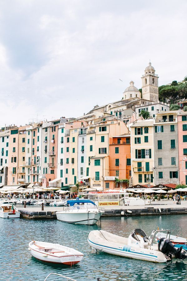 gorgeous colorful buildings in portovenere italy