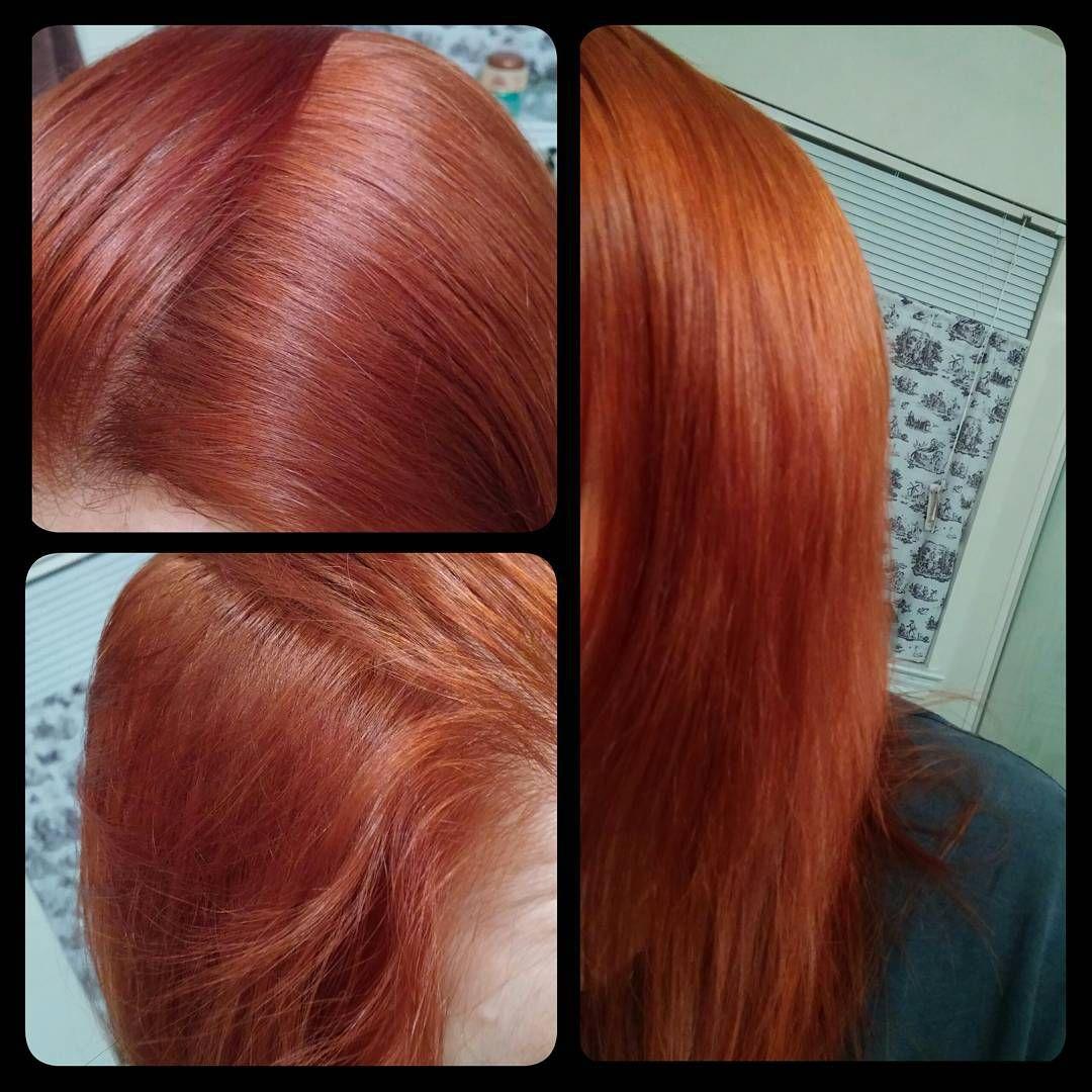 Did my rootsvved my redfeel like myself now red did my rootsvved my redfeel like myself now red redhead madisonreed vesuviusred haircolor healthy healthyhair madisonreedllb solutioingenieria Gallery