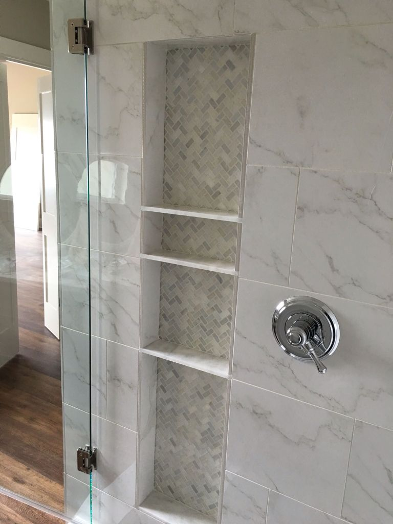 Beautiful bathroom shower remodel     #bathroom #tile #granite #master #shower #gannoncustomhomes #localbusiness #texas #remodel #custombuilder #interior #design #professional #contractor #construction #residential #business #family