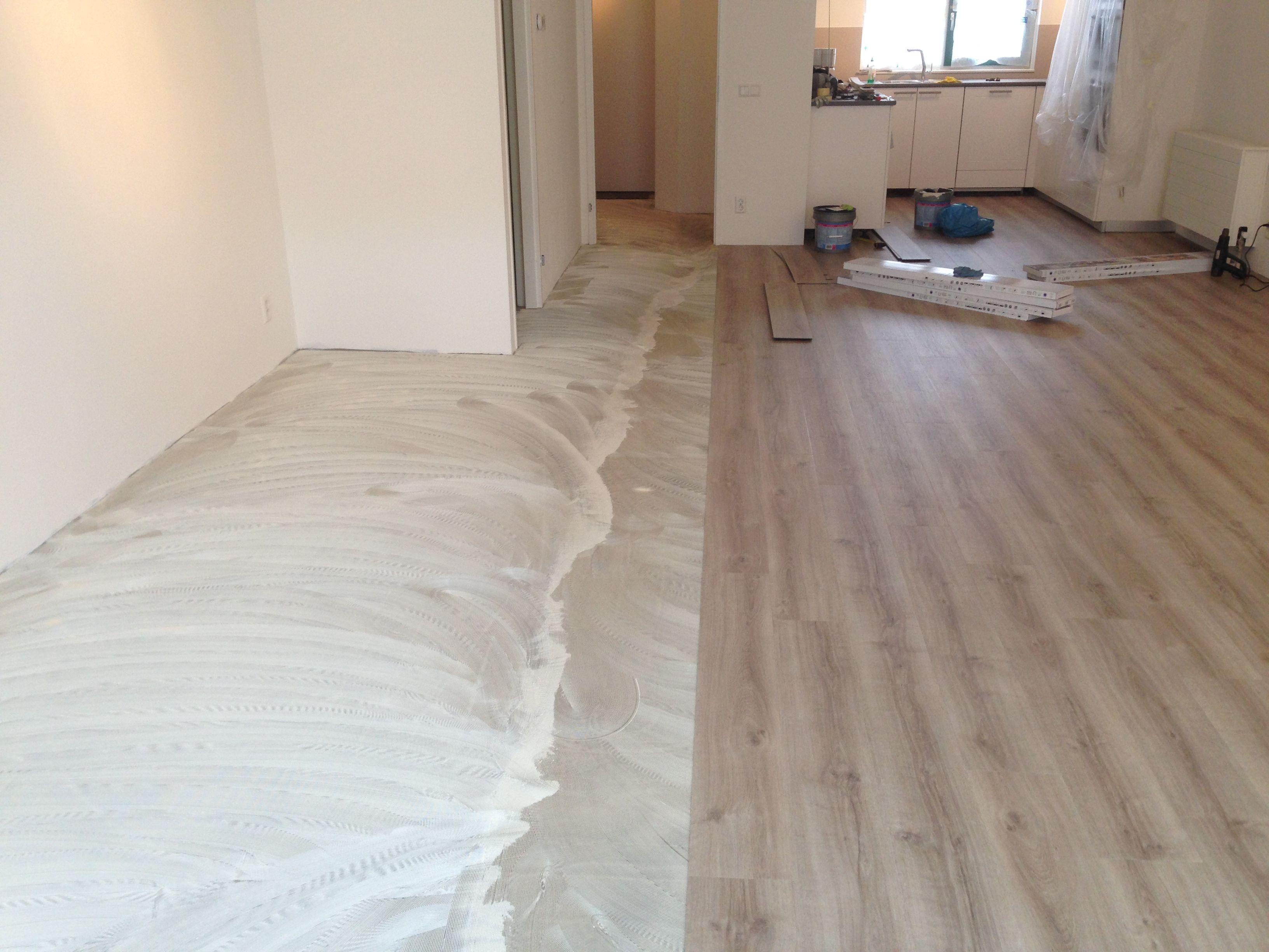 Bodiax rich dry back pvc vloer gelegd op een vloer met
