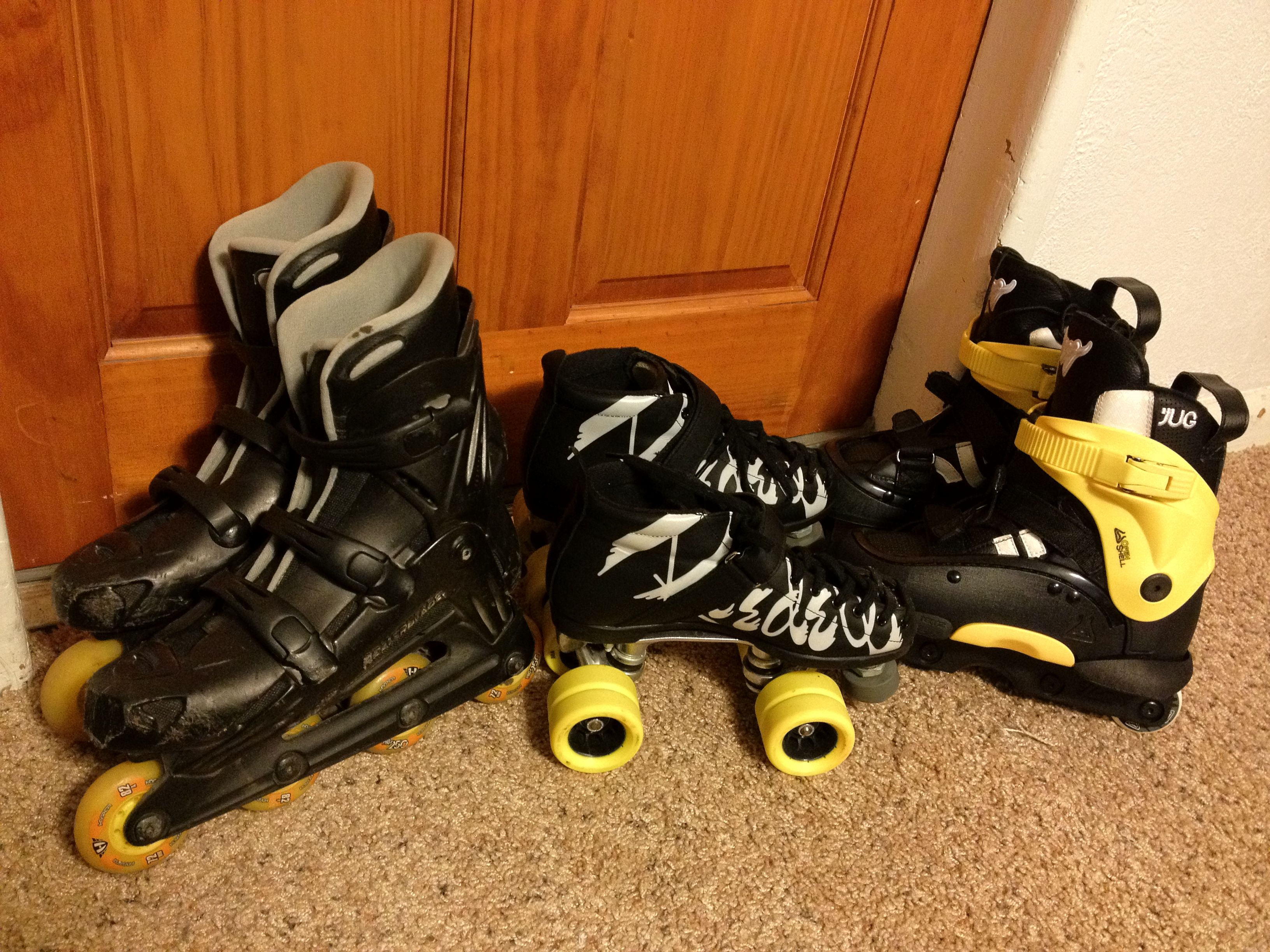 Roller skating babies - My Babies From Left To Right Roller Blades Roller Derby Skates Aggressive