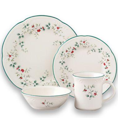 Dinnerware  sc 1 th 225 & Pfaltzgraff® Winterberry 16-pc. Dinnerware Set | Dinnerware