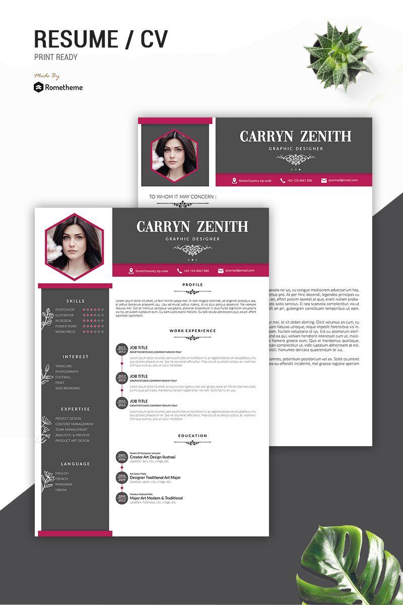 Carryn Zenith Resume Template 83381 Resume template