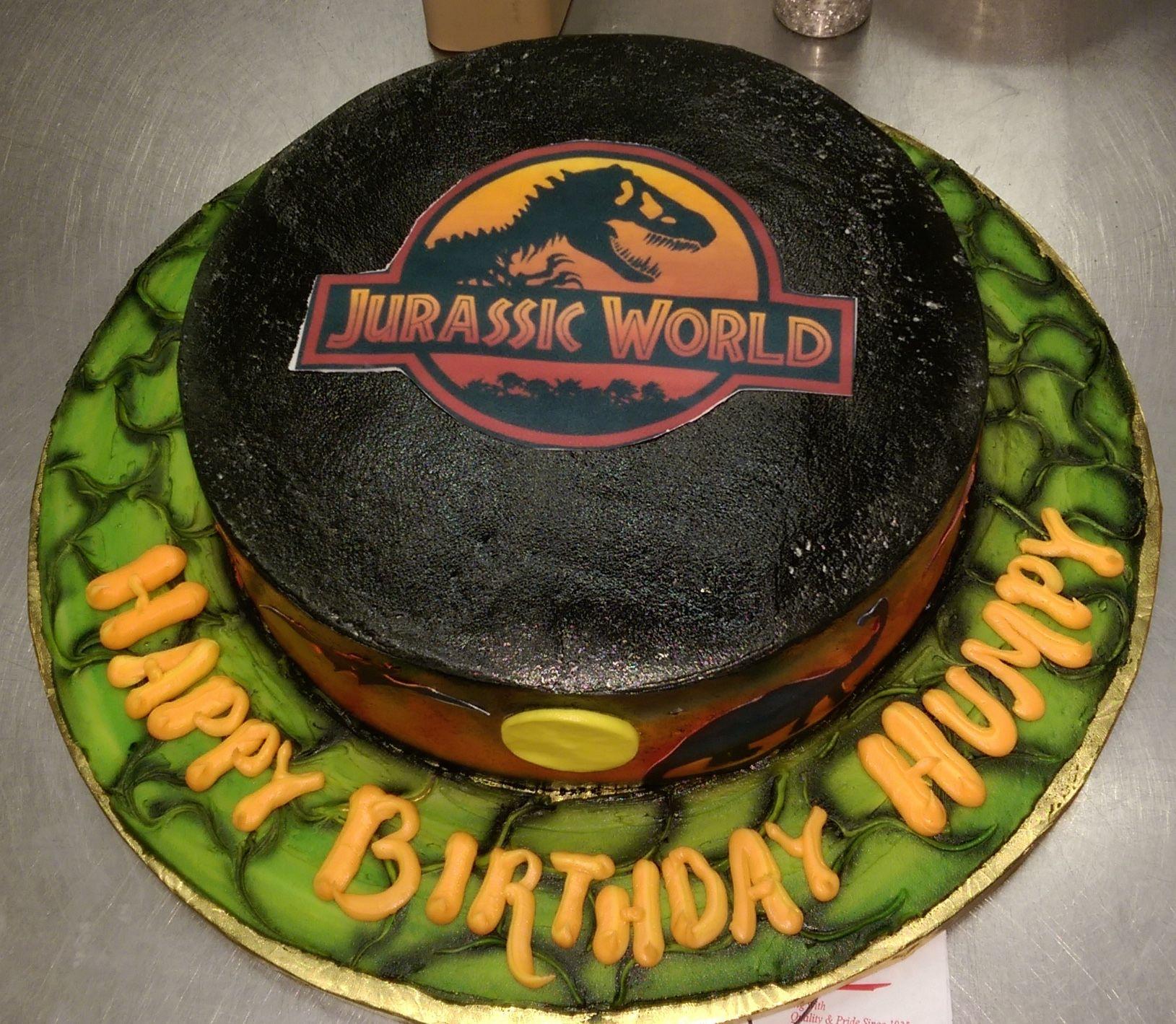 Calumet Bakery Jurassic World Cake Jurassic World Cake Piece Of Cakes Cake